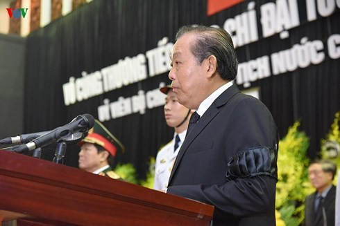 Việt Nam cử hành trọng thể lễ truy điệu Chủ tịch nước Trần Đại Quang - ảnh 2