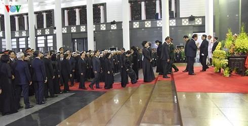 Việt Nam cử hành trọng thể lễ truy điệu Chủ tịch nước Trần Đại Quang - ảnh 7