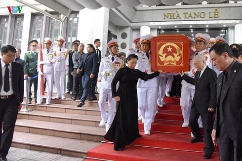 Việt Nam cử hành trọng thể lễ truy điệu Chủ tịch nước Trần Đại Quang - ảnh 8