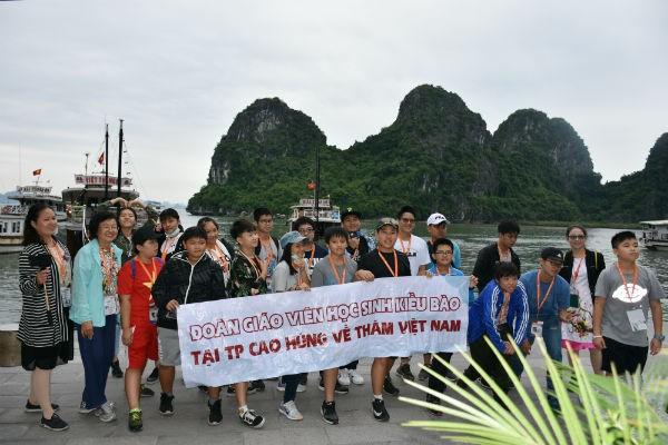 Đoàn thiếu nhi kiều bào tại Cao Hùng, Đài Loan (Trung Quốc) sang thăm và giao lưu tại Việt Nam - ảnh 2