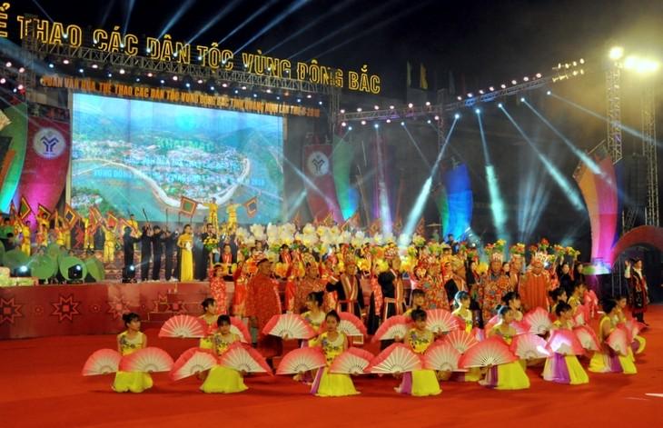 Khai mạc Tuần Văn hóa, Thể thao các dân tộc vùng Đông Bắc tỉnh Quảnh Ninh lần thứ II  - ảnh 1
