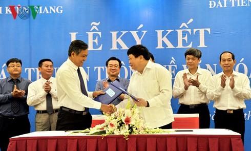 VOV ký hợp tác truyền thông với Kiên Giang về văn hoá du lịch - ảnh 2