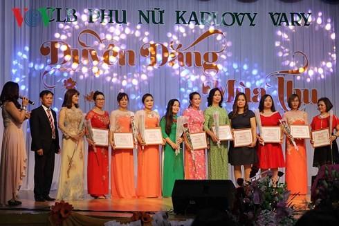 Duyên dáng mùa thu – tôn vinh nét đẹp phụ nữ Việt tại Séc - ảnh 2
