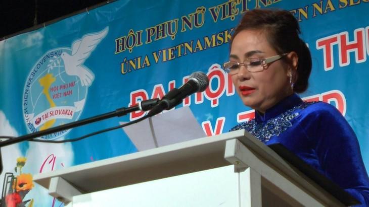 Hội phụ nữ Việt Nam tại Cộng hoà Slovakia vừa tổ chức đại hội lần thứ 5 - ảnh 6