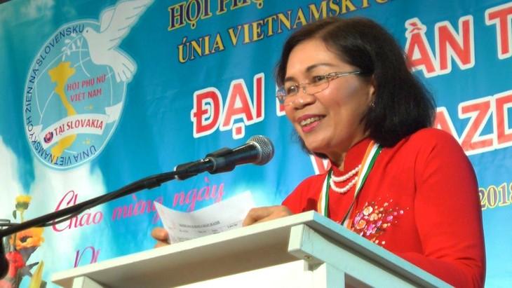 Hội phụ nữ Việt Nam tại Cộng hoà Slovakia vừa tổ chức đại hội lần thứ 5 - ảnh 7