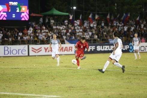 ĐT Philippines 1-2 ĐT Việt Nam: Đếm ngày giành vé vào chung kết - ảnh 1