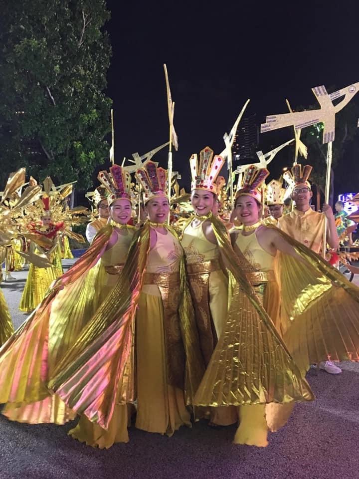 Cộng đồng người Việt tham gia lễ hội đường phố Chingay Parade tại Singapore - ảnh 3