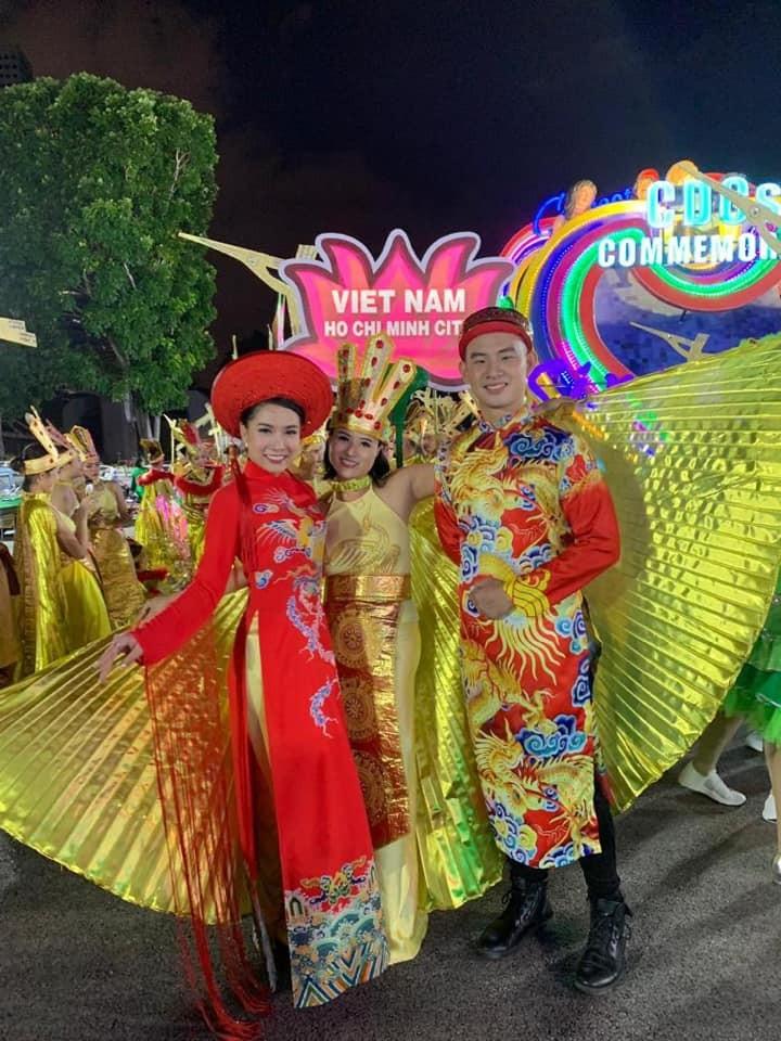 Cộng đồng người Việt tham gia lễ hội đường phố Chingay Parade tại Singapore - ảnh 5