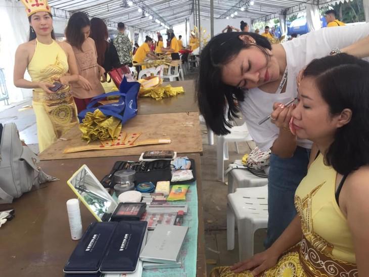 Cộng đồng người Việt tham gia lễ hội đường phố Chingay Parade tại Singapore - ảnh 1