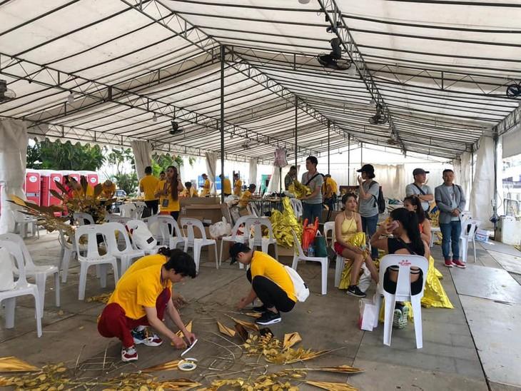 Cộng đồng người Việt tham gia lễ hội đường phố Chingay Parade tại Singapore - ảnh 2