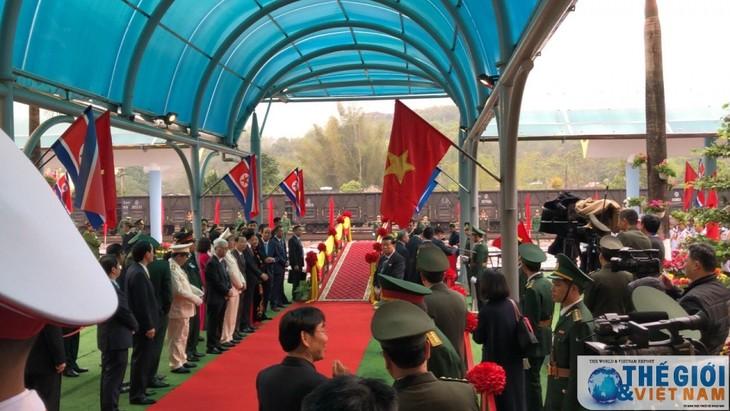 Những hình ảnh Chủ tịch Triều Tiên Kim Jong-un đến Việt Nam - ảnh 16