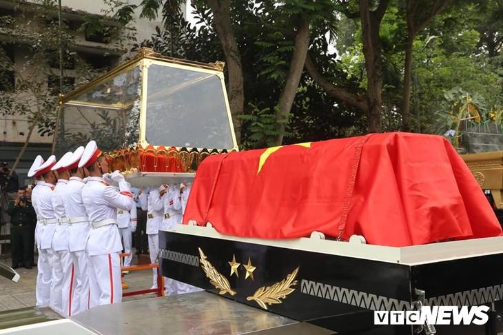 Tiễn đưa vị tướng Trường Sơn huyền thoại về công viên Vĩnh Hằng - ảnh 9