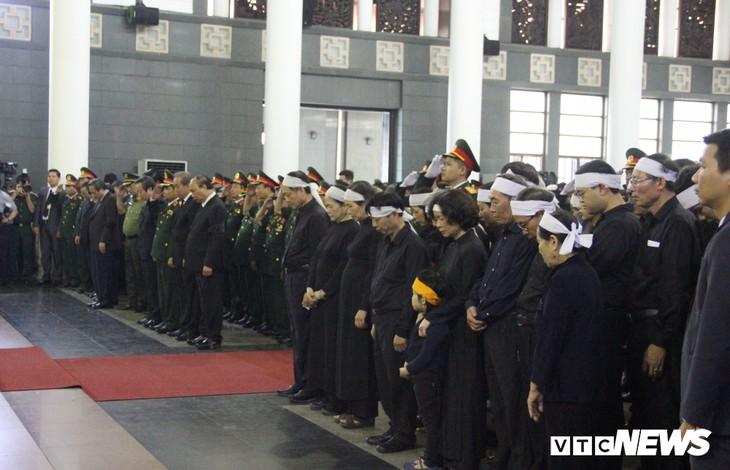 Tiễn đưa vị tướng Trường Sơn huyền thoại về công viên Vĩnh Hằng - ảnh 3