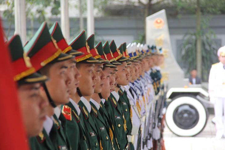 Tiễn đưa vị tướng Trường Sơn huyền thoại về công viên Vĩnh Hằng - ảnh 8
