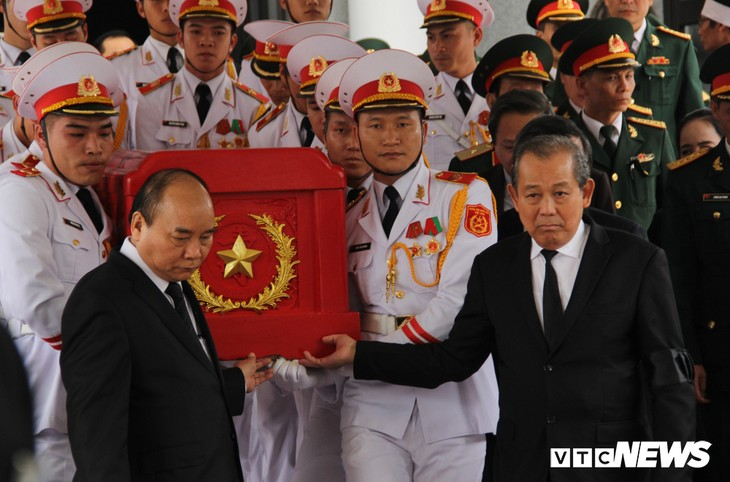 Tiễn đưa vị tướng Trường Sơn huyền thoại về công viên Vĩnh Hằng - ảnh 6