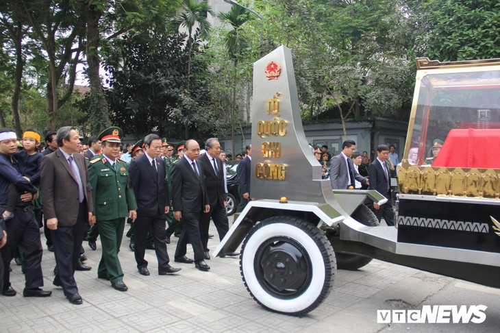 Tiễn đưa vị tướng Trường Sơn huyền thoại về công viên Vĩnh Hằng - ảnh 13