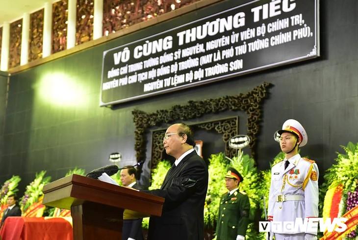 Tiễn đưa vị tướng Trường Sơn huyền thoại về công viên Vĩnh Hằng - ảnh 1
