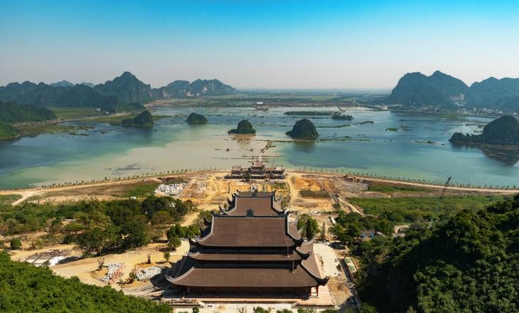 Khu Du lịch Tâm linh Chùa Tam Chúc – Nơi tổ chức Vesak 2019 - ảnh 9