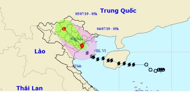 Bão số 2 giật cấp 11 đổ bộ Hải Phòng đến Nam Định, toàn vùng mưa dông gió giật - ảnh 1