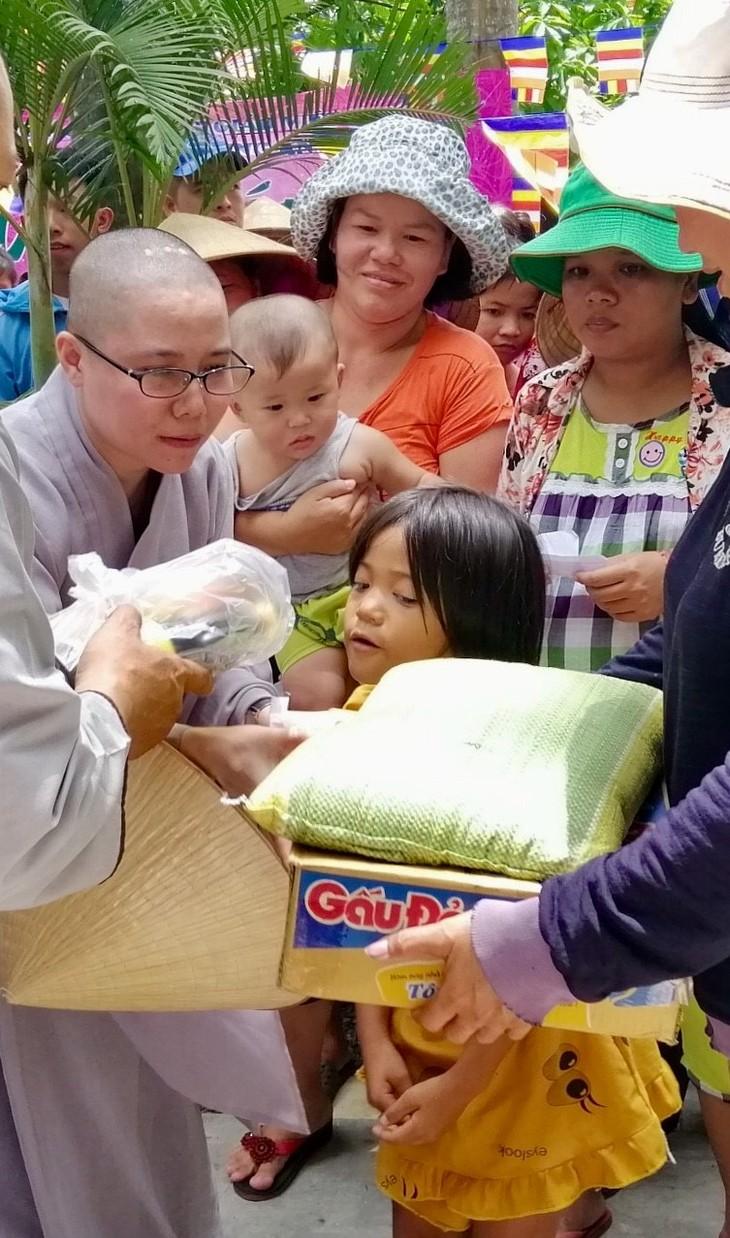 Hội Phật tử Việt Nam tại Hàn Quốc hỗ trợ đồng bào khó khăn trong nước - ảnh 6