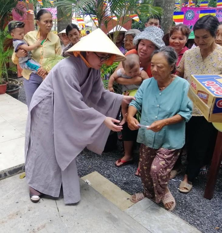 Hội Phật tử Việt Nam tại Hàn Quốc hỗ trợ đồng bào khó khăn trong nước - ảnh 3