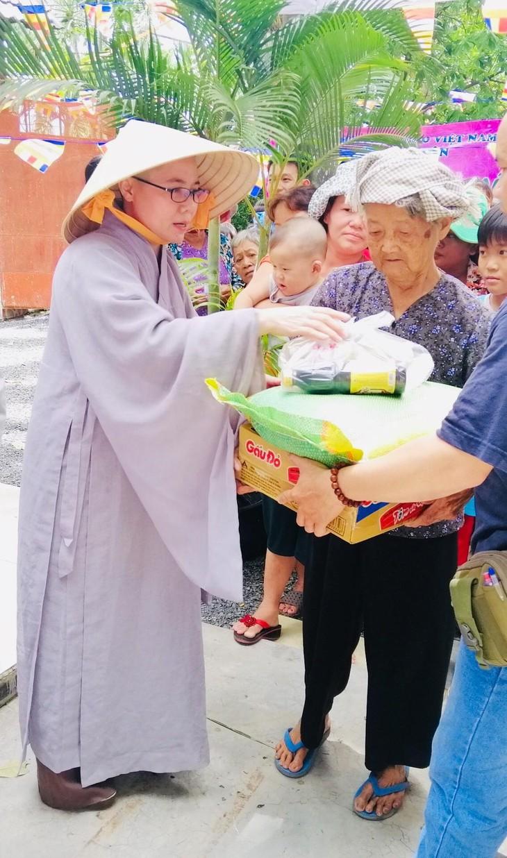 Hội Phật tử Việt Nam tại Hàn Quốc hỗ trợ đồng bào khó khăn trong nước - ảnh 4