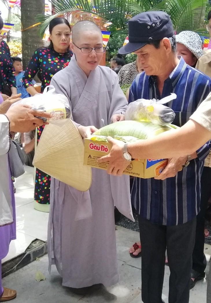 Hội Phật tử Việt Nam tại Hàn Quốc hỗ trợ đồng bào khó khăn trong nước - ảnh 5
