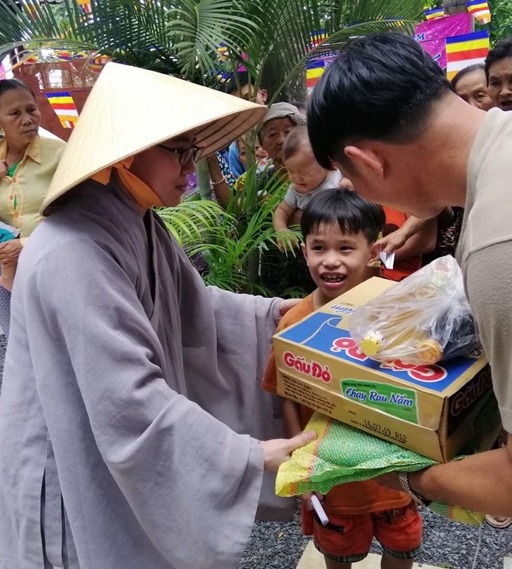 Hội Phật tử Việt Nam tại Hàn Quốc hỗ trợ đồng bào khó khăn trong nước - ảnh 7
