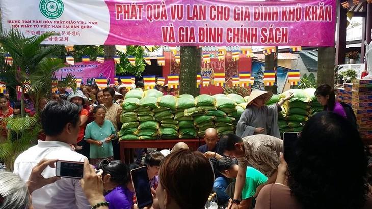 Hội Phật tử Việt Nam tại Hàn Quốc hỗ trợ đồng bào khó khăn trong nước - ảnh 9