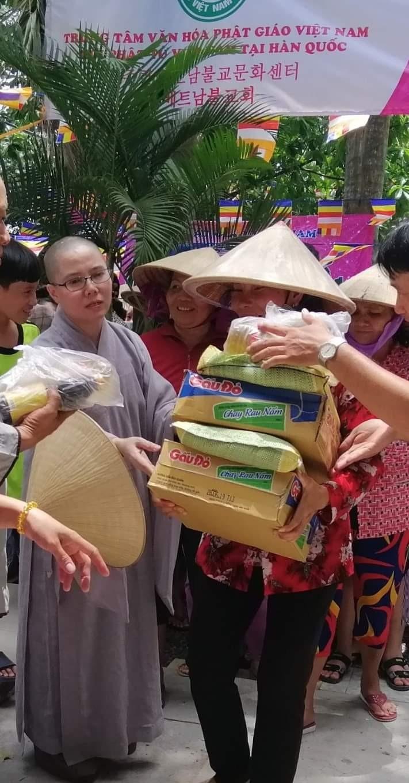 Hội Phật tử Việt Nam tại Hàn Quốc hỗ trợ đồng bào khó khăn trong nước - ảnh 8