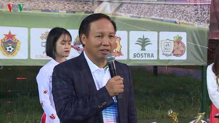 Bế mạc giải bóng đá của cộng đồng người Việt tại LB Nga 2019 - ảnh 1