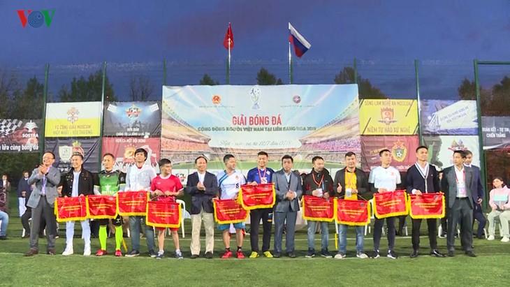 Bế mạc giải bóng đá của cộng đồng người Việt tại LB Nga 2019 - ảnh 3