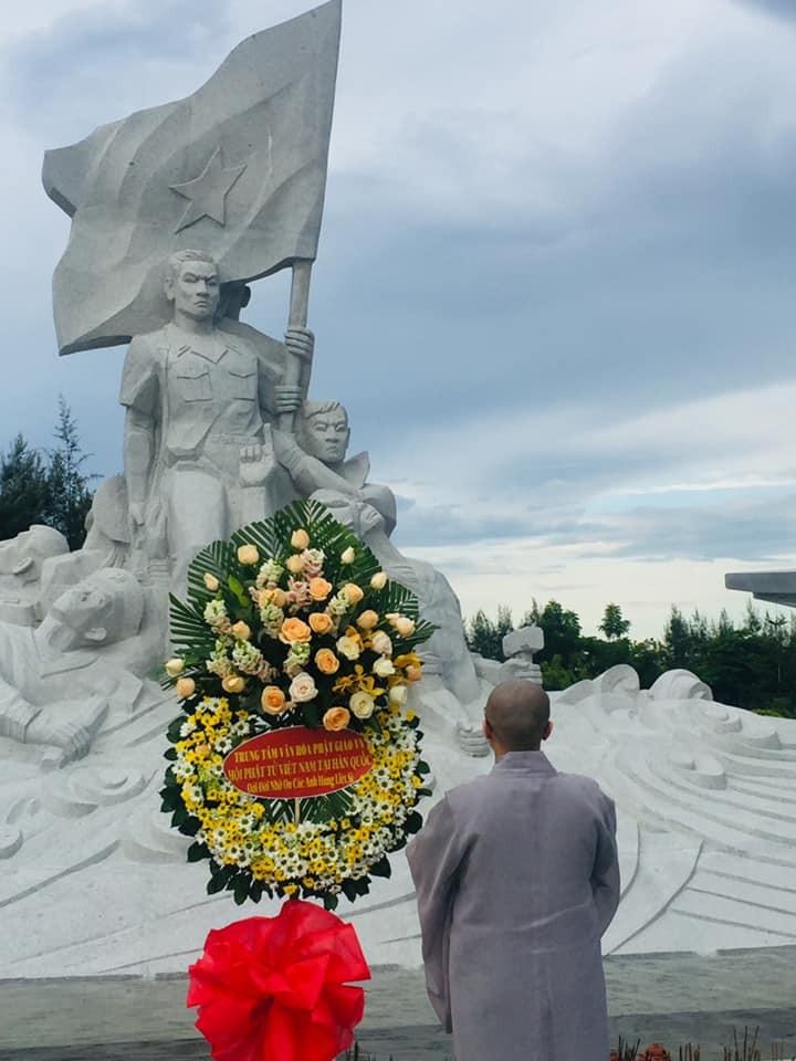 Hội Phật tử Việt Nam tại Hàn Quốc thăm và tặng quà huyện đảo Trường Sa - ảnh 2