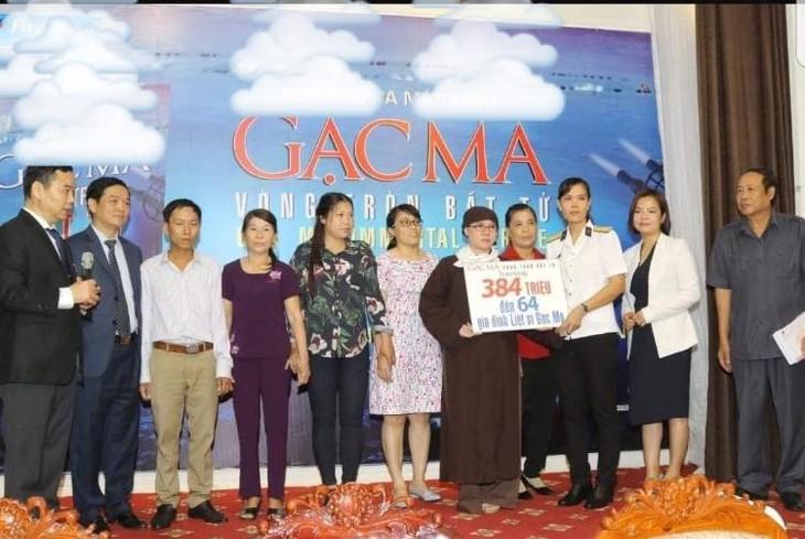 Hội Phật tử Việt Nam tại Hàn Quốc thăm và tặng quà huyện đảo Trường Sa - ảnh 4
