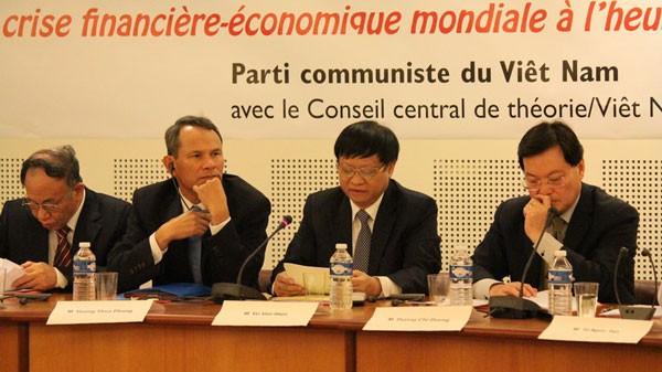 Hội thảo lý luận giữa Đảng Cộng sản Việt Nam và Đảng Cộng sản Pháp - ảnh 2