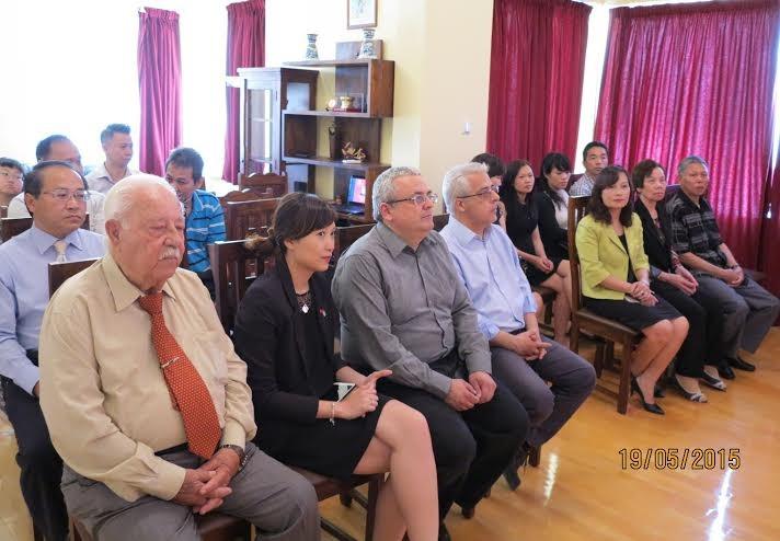 Kỷ niệm 125 năm ngày sinh chủ tịch Hồ Chí Minh tại Hy Lạp - ảnh 1