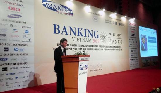 Banking Việt Nam 2015 trở thành diễn đàn khoa học – công nghệ Ngân hàng - ảnh 1
