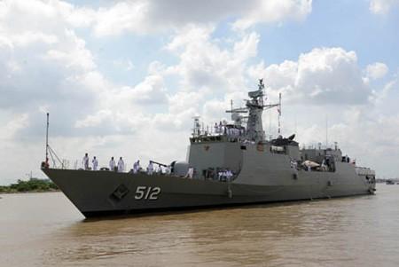 Lãnh đạo Thành phố Hồ Chí Minh tiếp đoàn Hải quân Hoàng gia Thái Lan  - ảnh 1