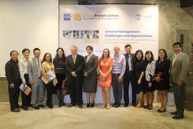Chương trình cao học Việt Bỉ ra mắt sách Trắng hỗ trợ cộng đồng doanh nghiệp Việt Nam - ảnh 1