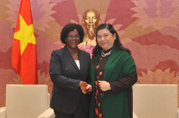 Quốc hội Việt Nam và Quốc hội Mozambique nỗ lực tăng cường quan hệ hợp tác  - ảnh 1