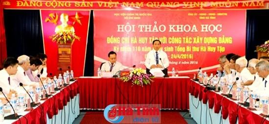 Hà Huy Tập – Người chiến sĩ cộng sản kiên trung của Đảng Cộng sản Việt Nam - ảnh 1