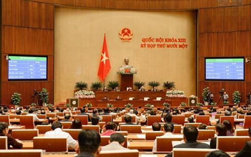 Cử tri tin tưởng vào kết quả kỳ họp thứ 11, Quốc hội khóa XIII   - ảnh 1
