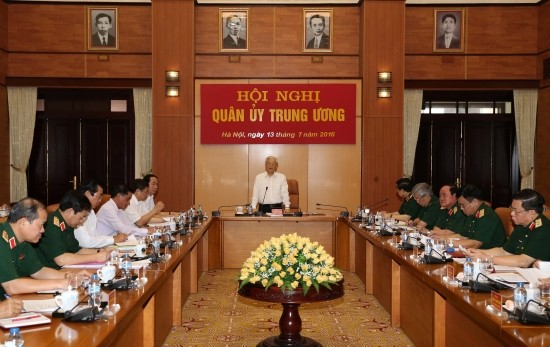 Quân ủy Trung ương thực hiện Nghị quyết Đại hội XII của Đảng Cộng sản Việt Nam - ảnh 1
