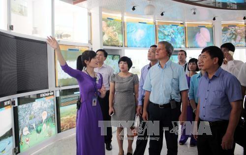 Thủ tướng Romania Dacian Ciolos thăm tỉnh Quảng Ninh - ảnh 1