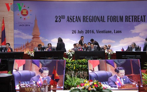 Diễn đàn ARF 23 thông qua Tuyên bố hợp tác giữa các cơ quan thực thi pháp luật trên biển  - ảnh 1