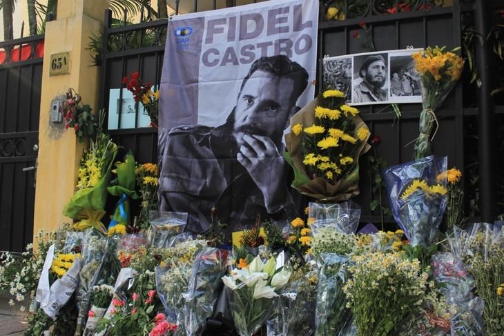 Lễ viếng Chủ tịch Fidel Castro tại Hà Nội - ảnh 1