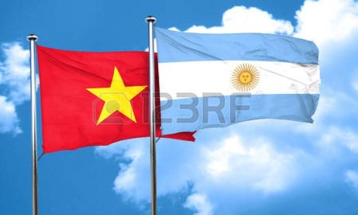 Việt Nam và Argentina củng cố quan hệ hợp tác  - ảnh 1