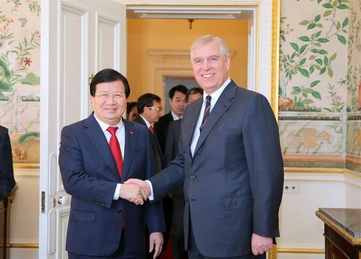 Việt Nam coi trọng quan hệ đối tác chiến lược với Vương quốc Anh - ảnh 1