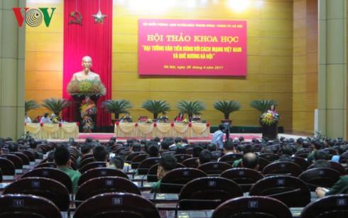 Đại tướng Văn Tiến Dũng với cách mạng Việt Nam và quê hương Hà Nội - ảnh 1