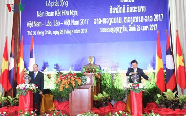 Phát động Năm Đoàn kết Hữu nghị Việt Nam – Lào, Lào – Việt Nam 2017 - ảnh 2